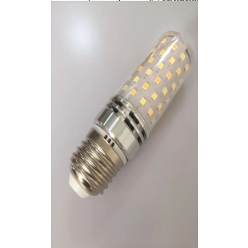 EILON หลอดไฟ LED 5W ปรับได้ 3 แสง ขั้ว E27 Silver ทรงกระบอก สีขาว