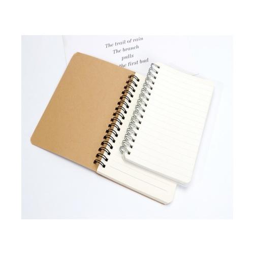 USUPSO  สมุดจดบันทึกสันห่วง  A660 (#D) สีขาว