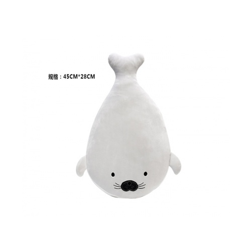 USUPSO  หมอนตุ๊กตา  Ocean ice 28 cm. (#BJ) สีขาว