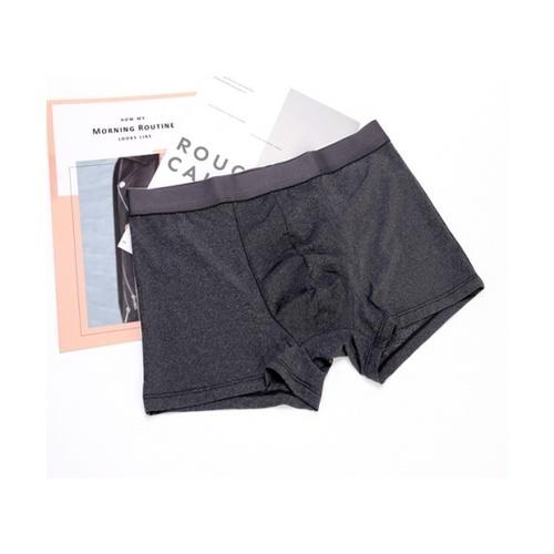 USUPSO USUPSO กางเกงชั้นในชายสีดำ-XXL (#BG9)  ขาว