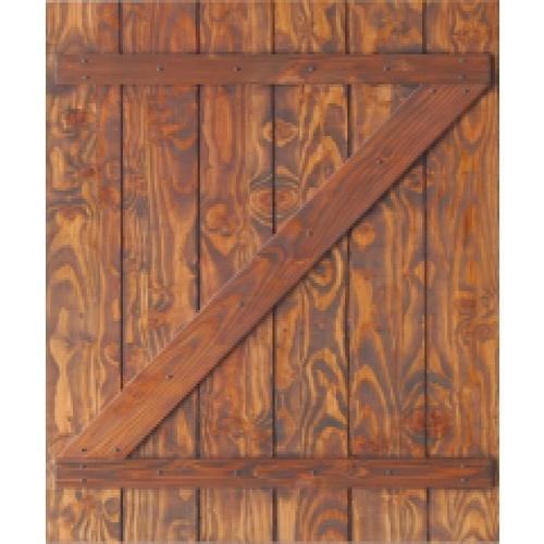 D2D ประตูไม้ดักลาสเฟอร์ทำสี ขนาด 80x200cm. Eco Pine -55