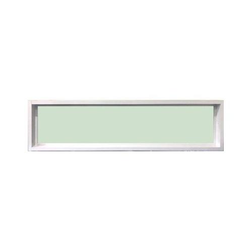 TRUSTAND (EZY WINDOW) หน้าต่างอะลูมิเนียมช่องแสงติดตาย  40x180ซม. ENZO สีขาว