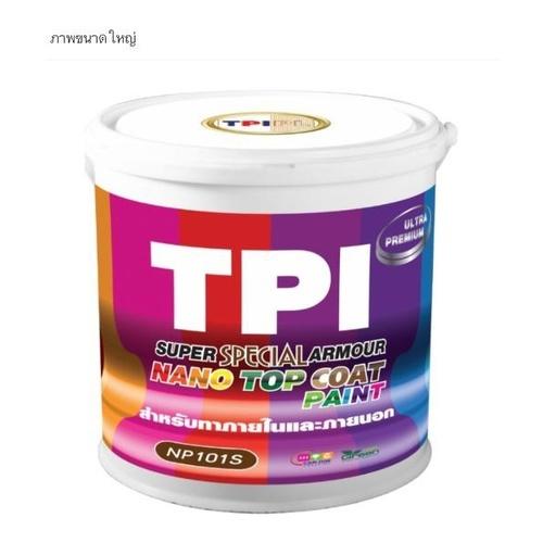TPI สีนาโนซูเปอร์ อาร์เมอร์ ขนาด18.5 กก. W04 สีเทาอ่อน
