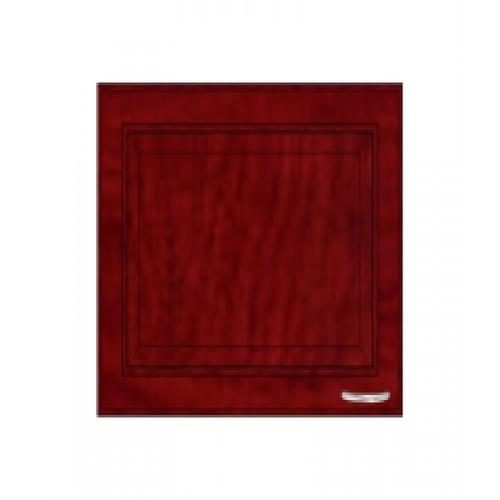 ตู้แขวนเดี่ยวบานทึบตรง W406 -MK สีมะค่า MJ  มะค่า