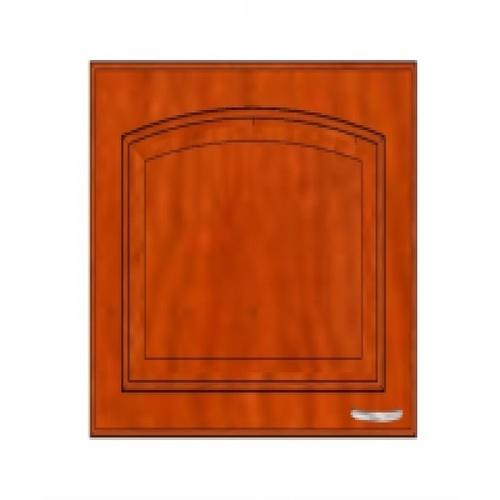 ตู้แขวนคู่กระจกตรง W608G -MK สีมะค่า MJ  เชอร์รี่