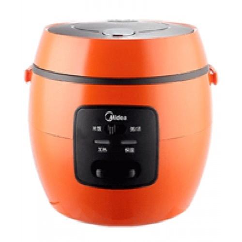 Midea หม้อหุงข้าว 0.8 ลิตร MR-07OB สีส้ม