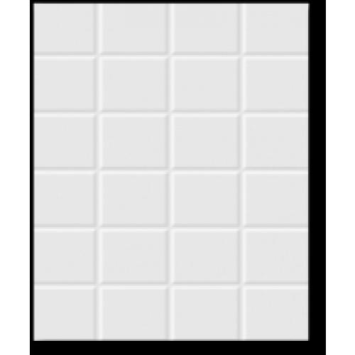 Cotto 8X12 อารายา (16P) A. - สีขาว