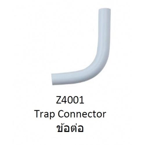COTTO ท่อโค้งพลาสติก (C203)   รุ่นZ4001  สีขาว
