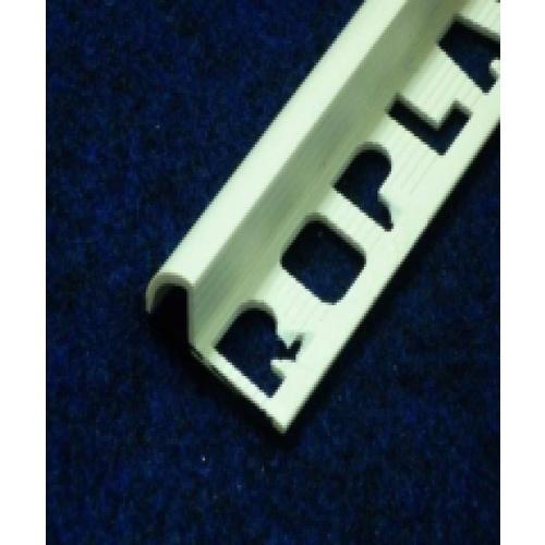 คิ้วกระเบื้องโปรพลาส สีขาว PTG-802001 (30x11x9.5mm) .PPS  ขาว