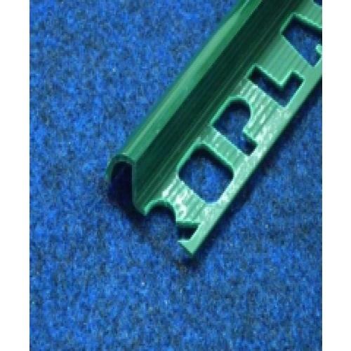 PPS คิ้วกระเบื้องโปรพลาส สีเขียวเข้ม ขนาด (30x11x9.5mm).  PTG-802052  สีเขียว