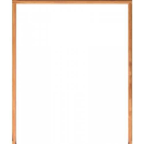 WINDOOR วงกบประตู เต็งแดง ขนาด 200x210 ซม.2x4นิ้ว COM 6