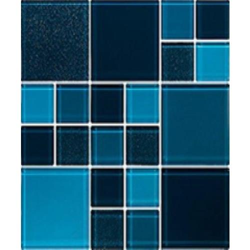 GLASCERA โมเสค บลู ไซรัป(Blue Syrup)  ฟ้า