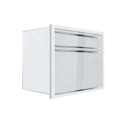 KITZCHO ตู้ลิ้นชัก Charisma KZM-CHR-S-D2-7090X-WH สีขาว KITZCHO  ขาว