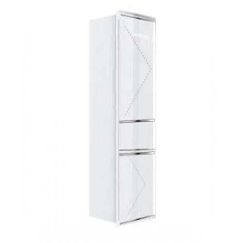 KITZCHO ตู้สูงเปิดขวา MICRO+OVEN Charisma  KZM-CHR-B-OF-2C60R-WH สีขาว