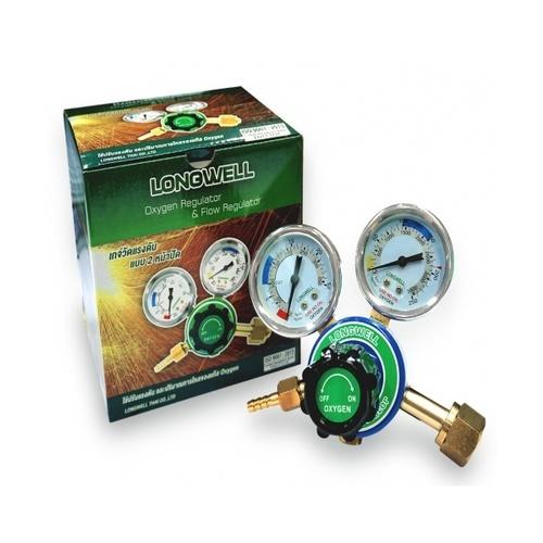 LONGWELL เกจ์วัดแรงดันลม Air pressure gauge สีเขียว