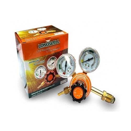 LONGWELL  เกจ์วัดแรงดันแก๊ส   Acetelyne  สีส้ม