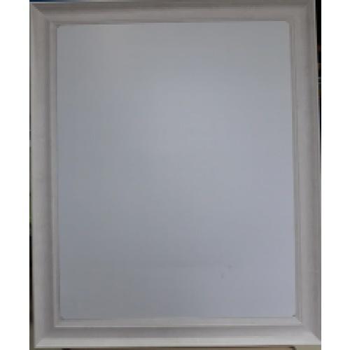 - กระจกเงากรอบ ขนาด  54X129 ซม.  DWZ-45120  สีครีม