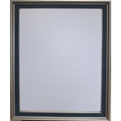 - กระจกเงากรอบ  ขนาด 70X90 ซม. DWN-6080 สีเขียวเงิน