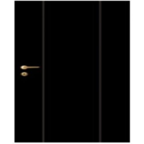 LEOWOOD ประตู iDoor  Modish Series 3 ขนาด 35x800x2000 มม. สี Jet black  สีดำ