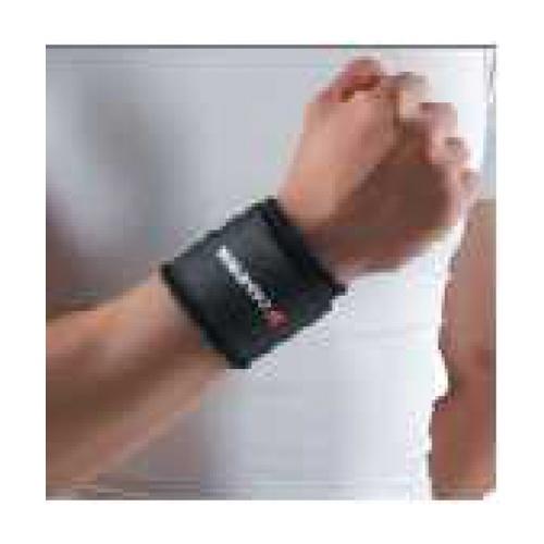 4TEM ผ้ารัดข้อมือ   DK001 ขนาด 7x23x0.25 ซม.สีดำ.