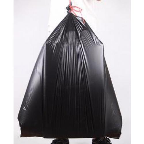 ICLEAN ถุงขยะม้วน iclean  มีหู หนาพิเศษ ขนาด 40  - สีดำ