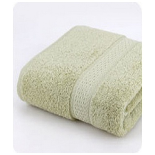 COZY ผ้าขนหนู ขนาด 70x140 ซม. BQ007-LGN สีเขียว