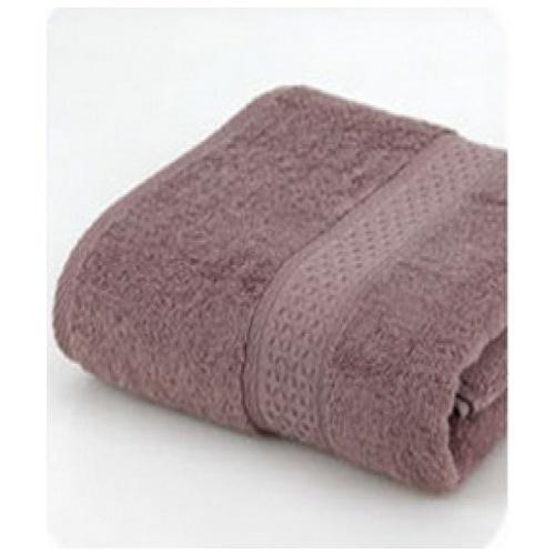 LUXUS ผ้าขนหนู 34x75ซม. Cozy BQ006-BR สีน้ำตาล