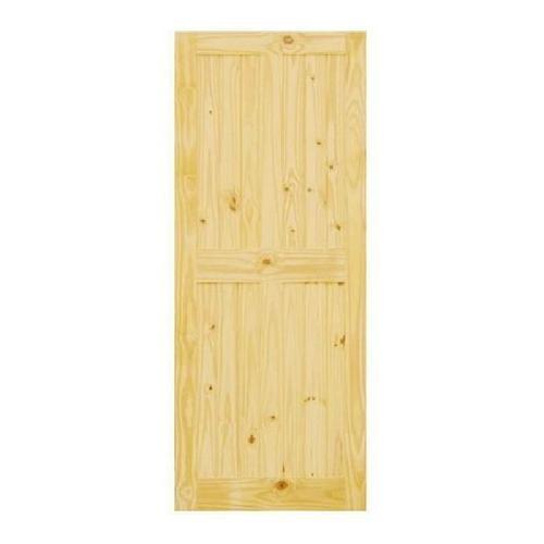 D2D ประตูไม้สนนิวซีแลนด์ ขนาด 80x200 ซม. Eco Pine -44