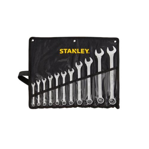 STANLEY ชุดประแจแหวนข้าง ปากตาย 11 ชิ้น STMT80942-8