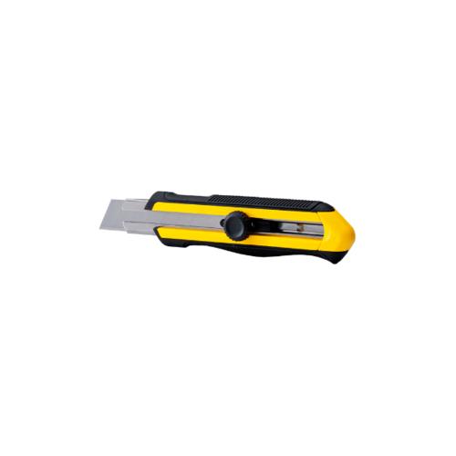 STANLEY มีดคัตเตอร์ไดออลล็อค ไดน่ากรีฟ 25มม STHT10425-8 สีเหลือง