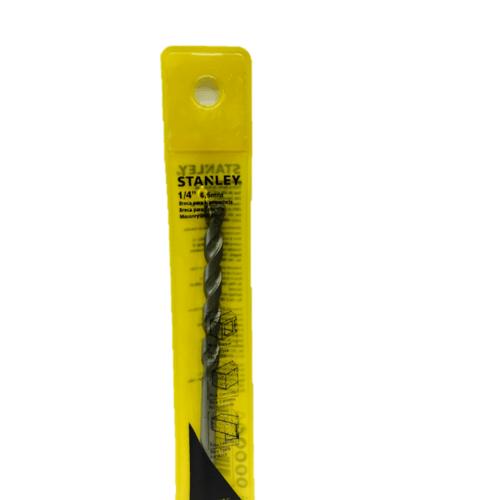 STANLEY ดอกเจาะคอนกรีตก้านกลม 6.5x100 มม. STA53065C สีเหลือง