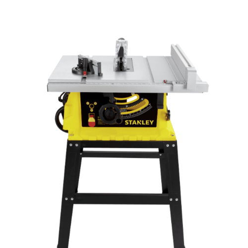STANLEY โต๊ะแท่นเลื่อย 10 นิ้ว 1800W  SST1801-B1 สีเหลือง