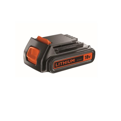 BLACK AND DECKER แบตเตอรี่ 18 โวลต์ BL2018-KR สีส้ม