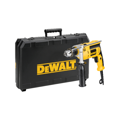 DeWALT สว่านกระแทก 13มม. DWD024K-B1 สีเหลือง