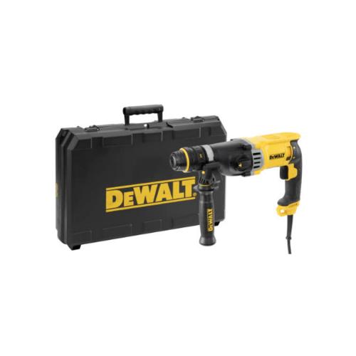 DeWALT  สว่านโรตารี่ 3 ระบบ 28mm.900W. รุ่น D25144KA-B1 สีเหลือง