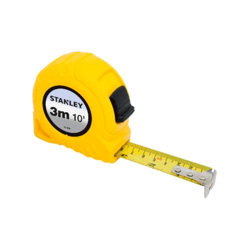 STANLEY ตลับเมตร 3 เมตร  30-486N-21-109 สีเหลือง