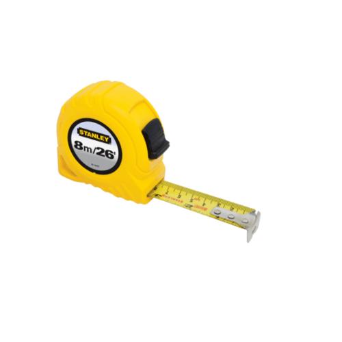 STANLEY ตลับเมตร 8 เมตร  30-456N-21-109 สีเหลือง