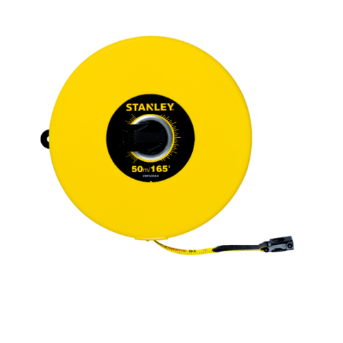 STANLEY เทปวัดสายไฟ 50 เมตร  STHT34263-8THA สีเหลือง