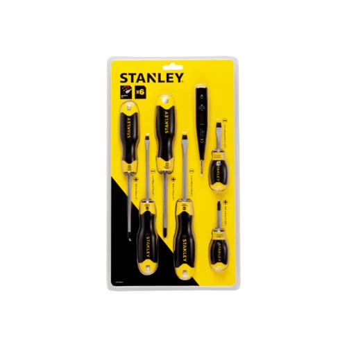 STANLEY ชุดไขควงปากแบน ปากแฉก  STHT92002-8 สีเหลือง