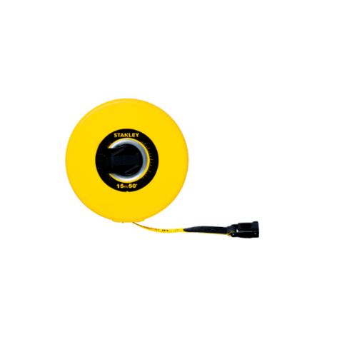 STANLEY เทปวัดสายไฟ 15 เมตร  STHT34260-8THA  สีเหลือง