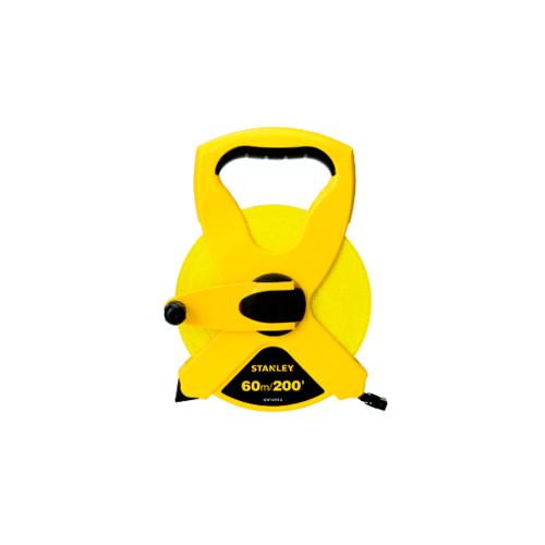 STANLEY เทปวัดสายไฟ 60 เมตร  STHT34794-8THA สีเหลือง