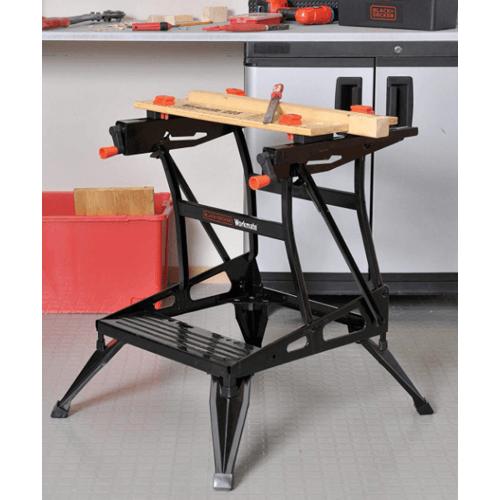 BLACK&DECKER โต๊ะช่างอเนกประสงค์ WM225-JPR สีน้ำตาล
