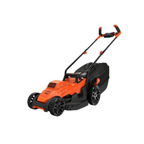 BLACK AND DECKER รถตัดหญ้าไฟฟ้า 1400W B-D  BEMW461BH-B1 สีส้ม