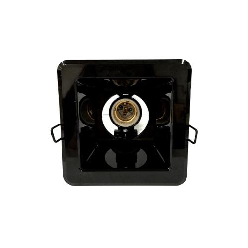 GATA โคม ดาวไลท์ หน้าเหลี่ยม ขนาด 6 นิ้ว  - สีดำ