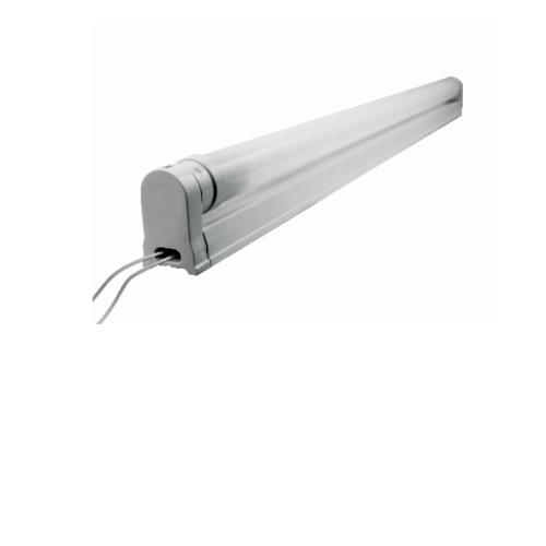 GATA ชุดโคมไฟ  แอลอีดี ที8  9วัตต์ ดับเบิ้ล เอ็น - สีขาว