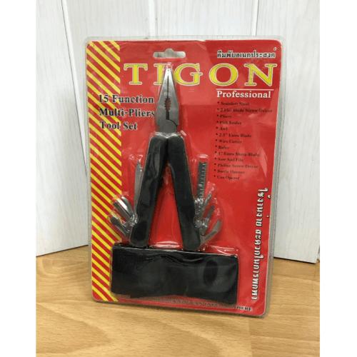 TIGON คีมพับเอนกประสงค์ 14 อย่าง TIGON