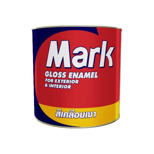 CAPTAIN สีเคลือบเงา มาร์ค   1/4 กล. #0M831