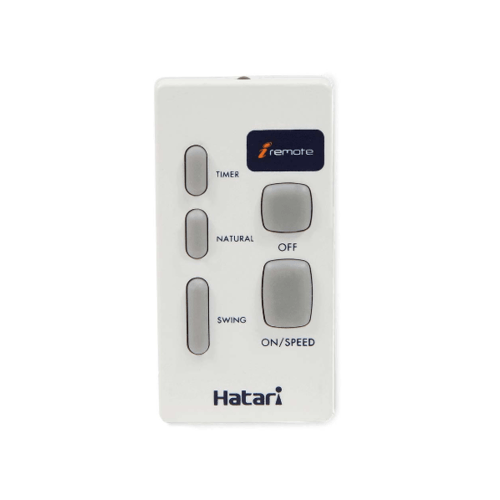 HATARI พัดลมติดผนัง 18 นิ้ว (รีโมท) HF-W18R1 ขาวงาช้าง