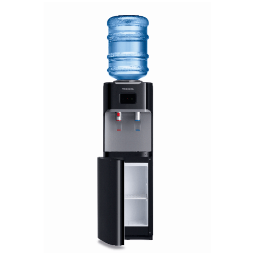 TOSHIBA เครื่องทำน้ำร้อน-น้ำเย็น RWF-W1664TK(K1) สีดำ