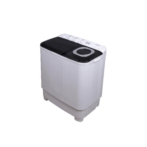 TOSHIBA เครื่องซักผ้า 2 ถัง 8.5 กิโลกรัม VH-H95MT สีขาว